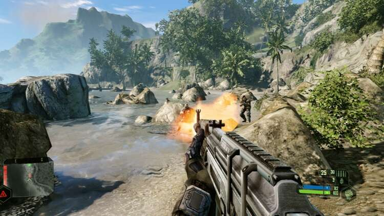 Finally! Crysis Remastered on Nintendo Switch officially launched the trailer