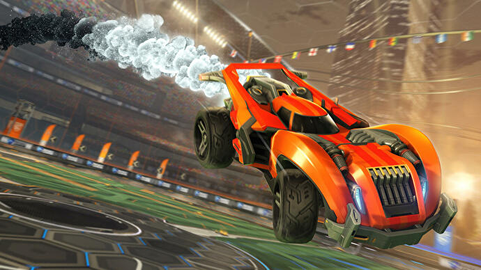 "Rocket League going free-to-play ""later this summer"""