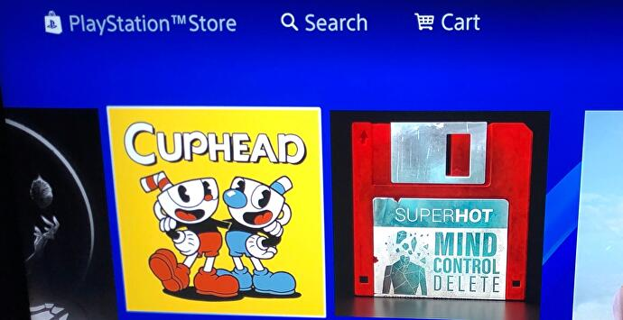 Cuphead im PlayStation Store
