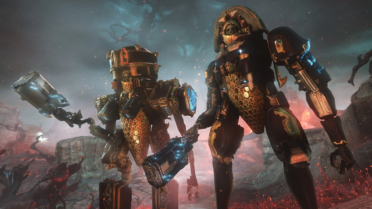 Warframe dev on working from home, Necramechs and the wild new Helminth system thumbnail