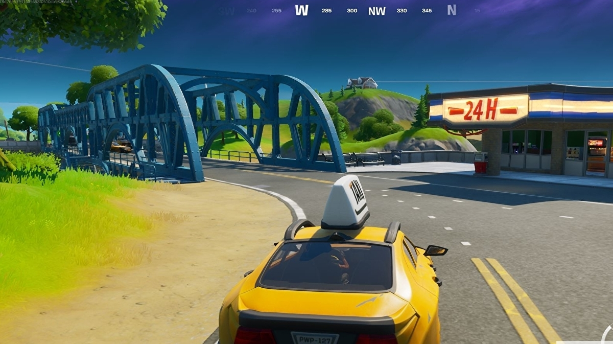 Fortnite Drive A Car From Retail Row To Pleasant Park In Under