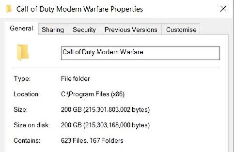 As Call of Duty: Modern Warfare and Warzone hits 200GB on PC, I have one question: why can't I delete the stuff I don't want like I can on console?