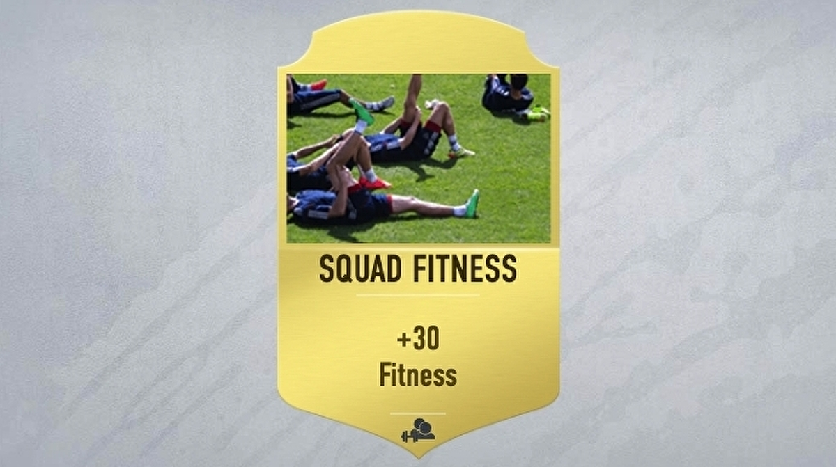 FUT changes: no fitness and training cards anymore