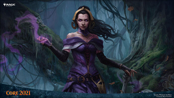 Magic the Gathering Liliana Waker of the Dead