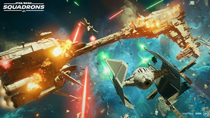 EA talks Star Wars: Squadrons' switchable ship components and customisation options