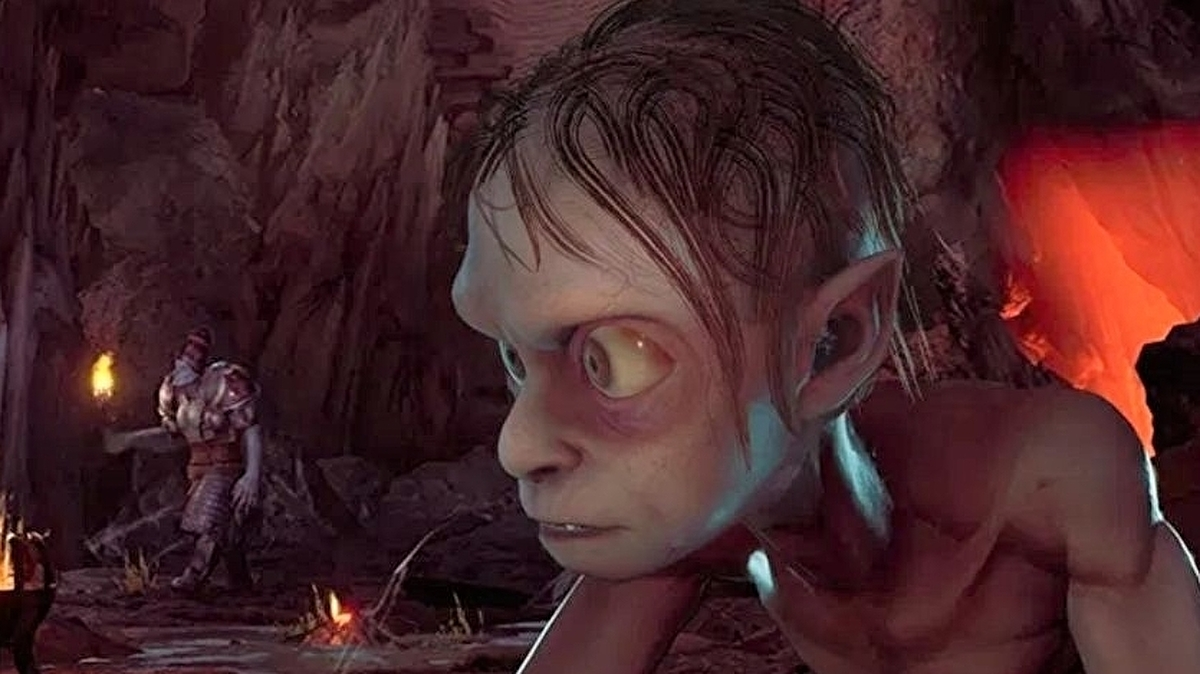 Gollum In The New Lord Of The Rings Game Has More Hair Than In The Movies To Make Him Less Creepy Eurogamer Net