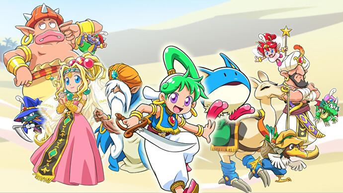 Original Wonder Boy director returning for new series entry Asha in Monster World