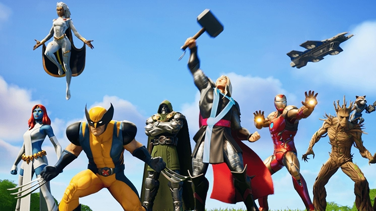 Fortnite Chapter 2 Season 4 Battle Pass Skins Including Thor Groot Storm Mystique And Tier 100 Skin Iron Man Eurogamer Net
