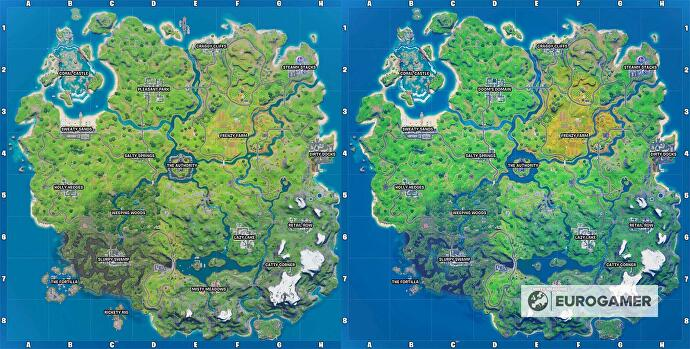 Fortnite_Season_4_Map_vs_Season_3_Map