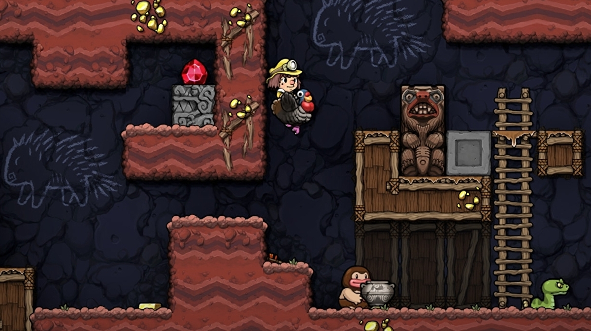 Spelunky 2's PC version dated for the end of September