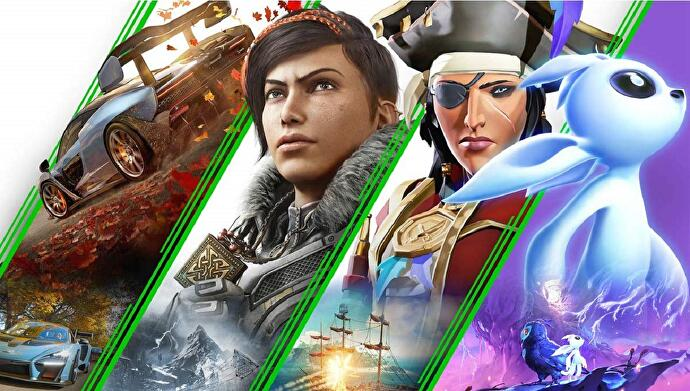 Key Art including some games for Xbox Game Pass Ultimate