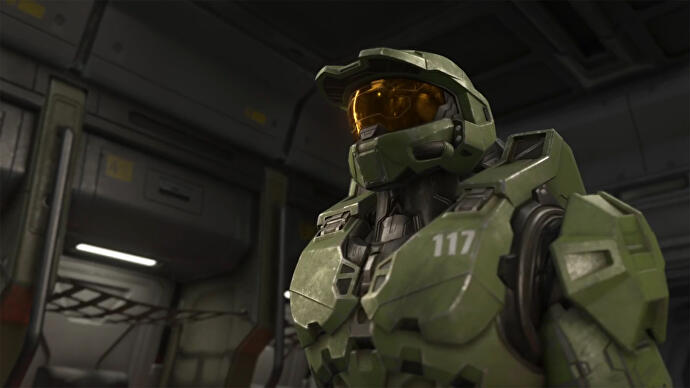 Screenshot of Halo's Master Chief