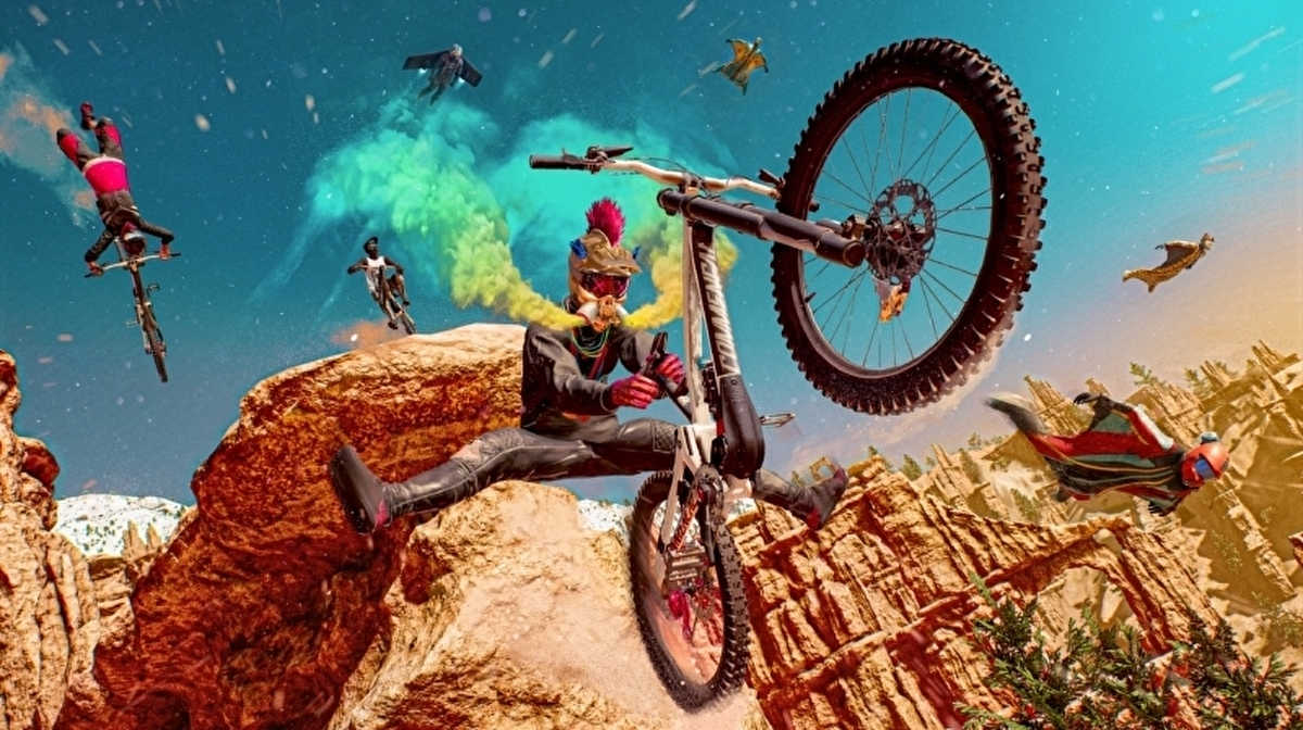 The spirit of Steep lives on in Ubisoft's extreme sports game Riders  Republic • Eurogamer.net