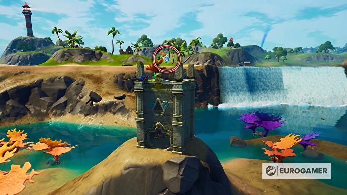 Fortnite_Season_4_Ring_2_in_der_Luft_bei_Coral_Castle