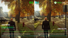 Hitman 2 is a strong GPU workout - and here you can see that Series X is indeed capable doubling Xbox One X output.