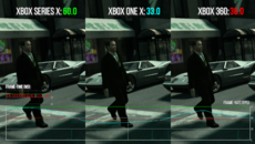 Improvements roll out to older generation Xbox games too. Here's GTA4's Ballad of Gay Tony across 360, One X and Series X. It's a locked 60fps on the new console... with Auto HDR to boot.
