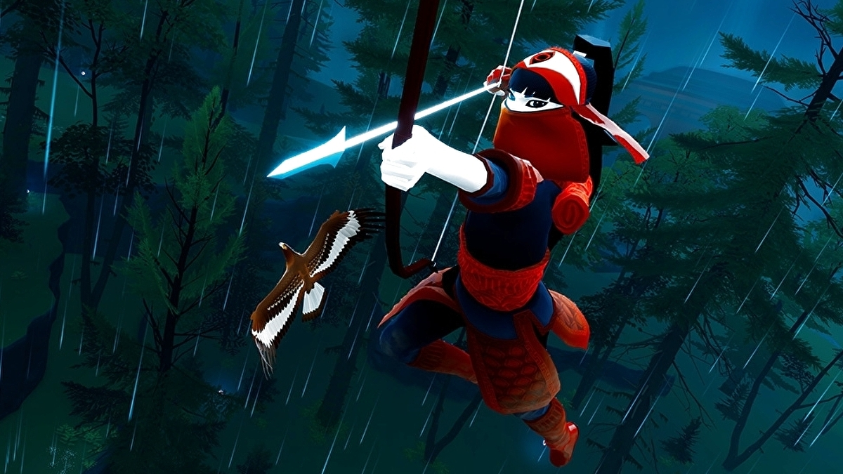 Abzû developer's gorgeous forest adventure The Pathless is a PlayStation 5 launch title