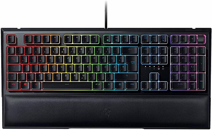 Razer Ornata V2 Test Keyboard