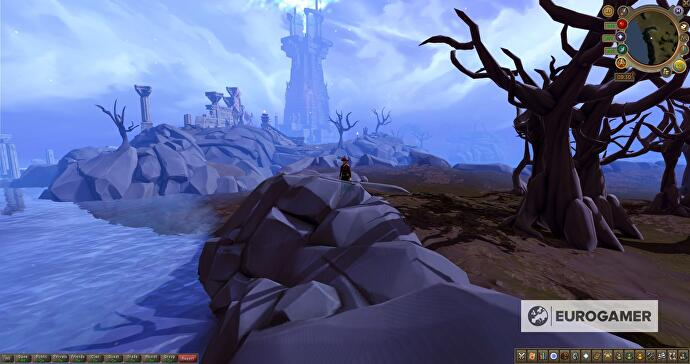 The Everlight was added to the RuneScape 3 map in March 2020