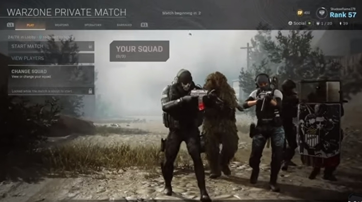 Call of Duty: Warzone players get private matches working before they officially launch