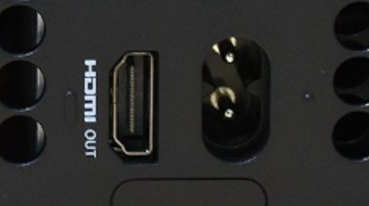 Xbox Series X has tactile indicators over the ports