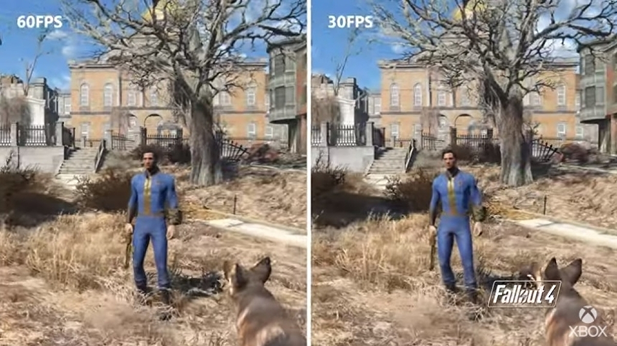 Fallout 4 runs at 60fps on Xbox Series S