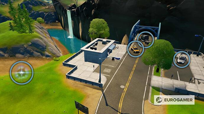 Fortnite_Season_4_Auto_oder_Truck_durch_Riss_lenken_1