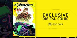 Cyberpunk 2077 comic exclusive to GOG