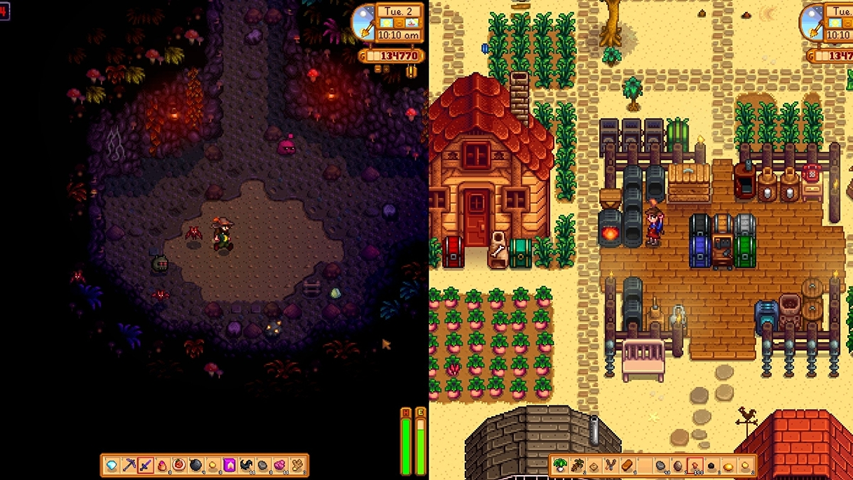 Stardew Valley is getting split-screen co-op