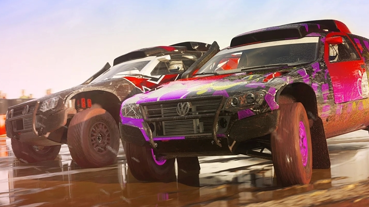 Dirt 5 is a PlayStation 5 launch title