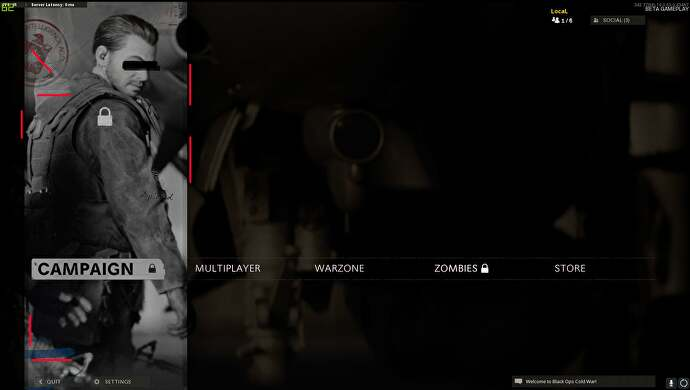 Call of Duty: Black Ops Cold War fan discovers a cool CIA Easter egg hidden in the menu screen