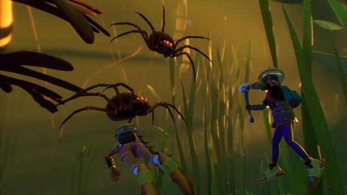 Obsidian's inch-high survival adventure Grounded is continuing its early access journey with the grand opening of the garden's previously inaccessible koi pond, which brings with it a host