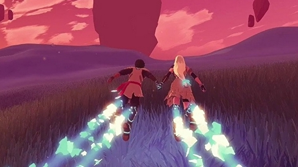 Furi dev's striking romantic space adventure Haven is out in December