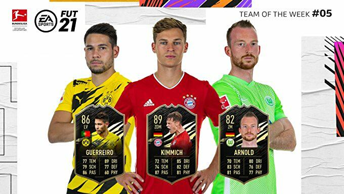 FIFA_21_TOTW_5_Team_of_the_Week_5_Guerreiro_Kimmich_Arnold