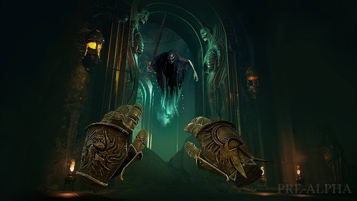 Warhammer Age of Sigmar: Tempestfall is a VR-only action-adventure