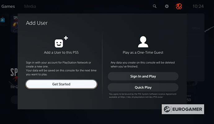 PS5 – Accounts: how to create new accounts, change or delete accounts and add guests with Quick Play on PlayStation 5