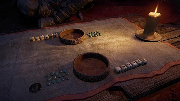 Assassin's Creed: Valhalla's dice game Orlog is getting a physical adaptation next year