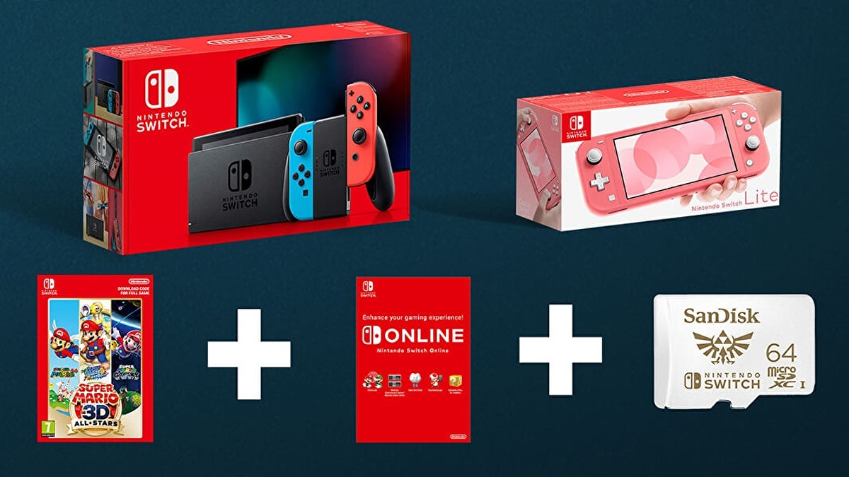 These Nintendo Switch Black Friday Bundles Include A Free Sd Card Eurogamer Net