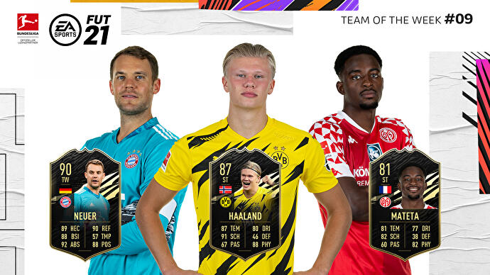 FIFA_21_TOTW_9_Team_of_the_Week_9_Neuer_Haaland_Mateta