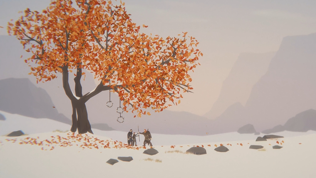 "Desolate combat-focussed ""cinematic platformer"" Unto The End is out in December"