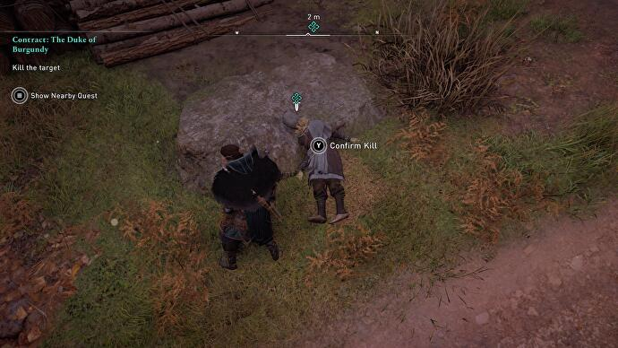 Assassin's Creed Valhalla keeps sending players to assassinate training dummies