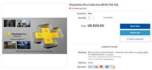 PS5 owners are exploiting a loophole to sell the PS Plus Collection to PS4 owners