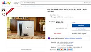 eBay issues warning to scammers selling photos of PS5s