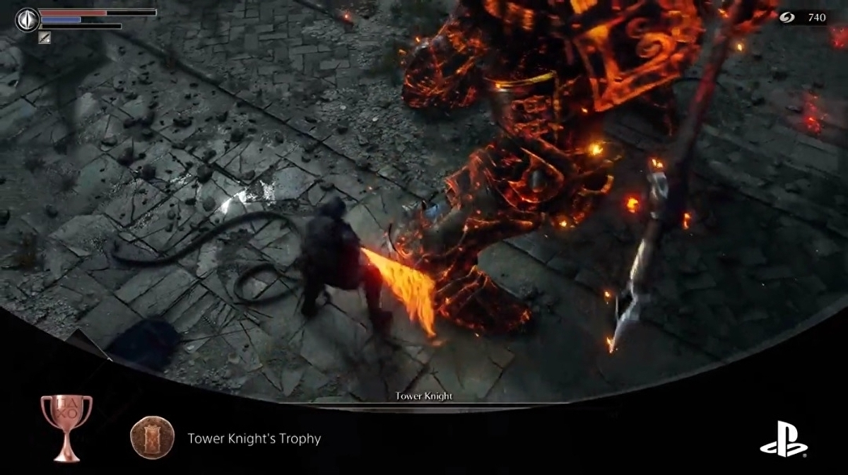 Demon's Souls player discovers the PS5 records mic audio as it captures Trophy gameplay via their own rousing boss kill clip