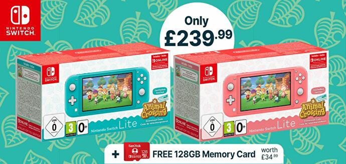 A Nintendo Switch Lite with Animal Crossing Bundle for Black Friday