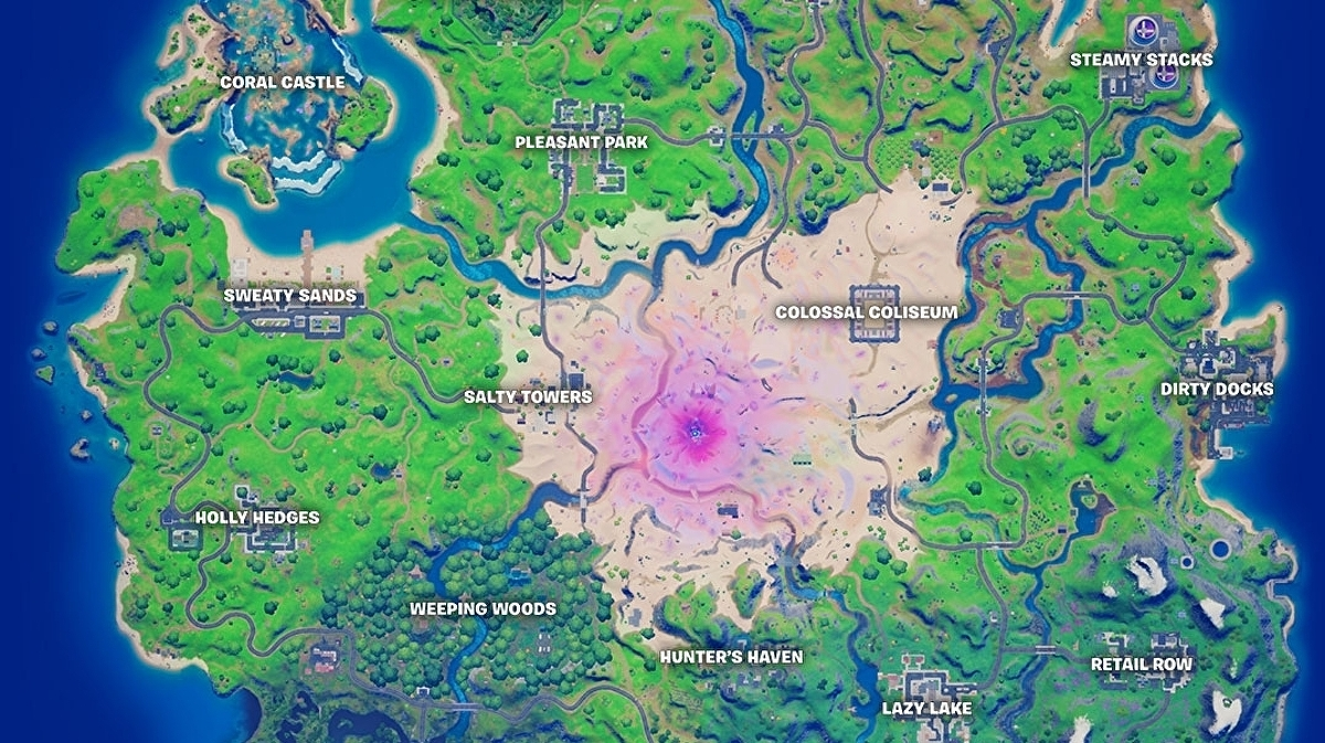 Fortnite New Map Additions In Season 5 Explained Eurogamer Net Favorite maps to easily revisit your favorite maps. fortnite new map additions in season 5