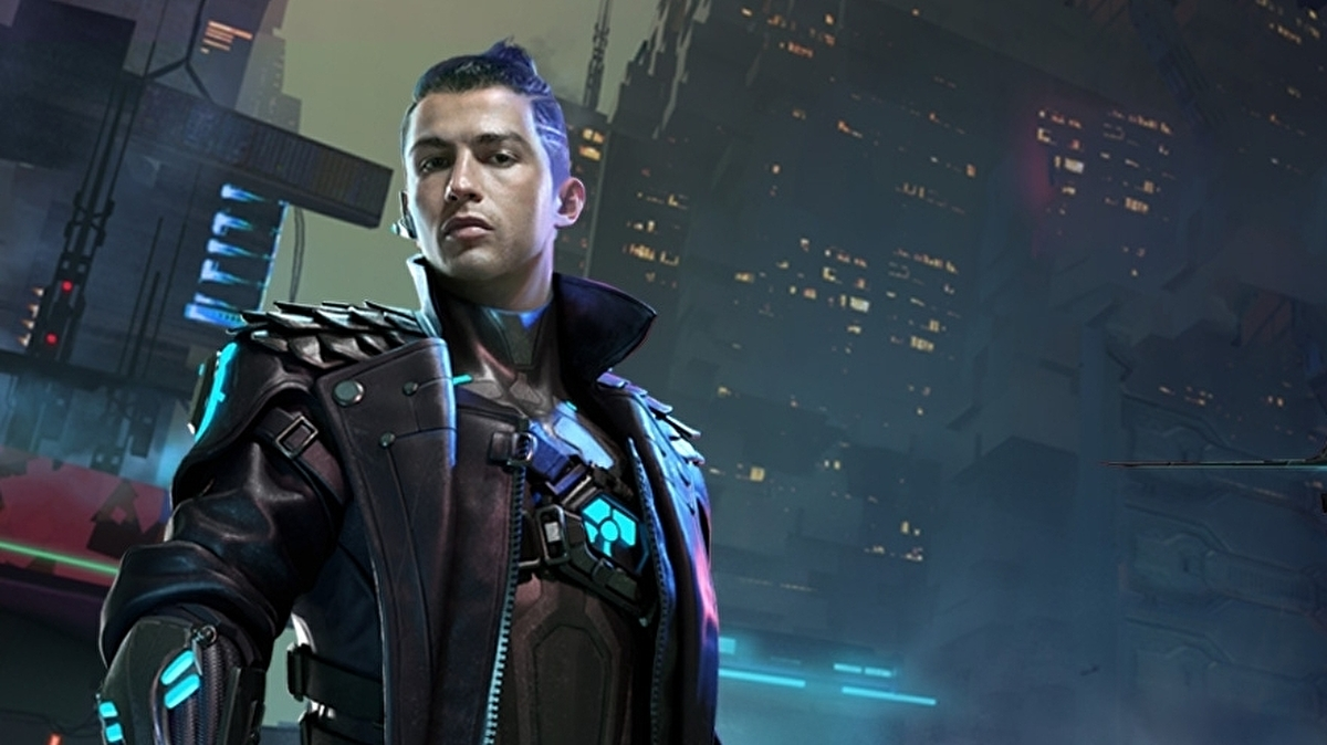 Cristiano Ronaldo is now a Cyberpunk character in a Mobile Battle Royale