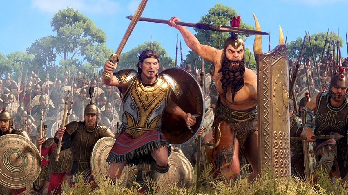Troy: A Total War Saga's Ajax & Diomedes Faction Pack DLC launching later this month