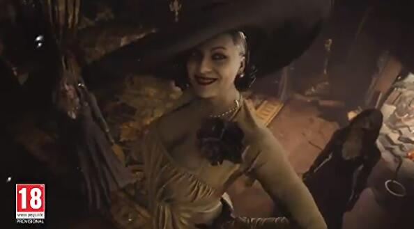 The internet is… enjoying Resident Evil Village's extremely tall vampire lady