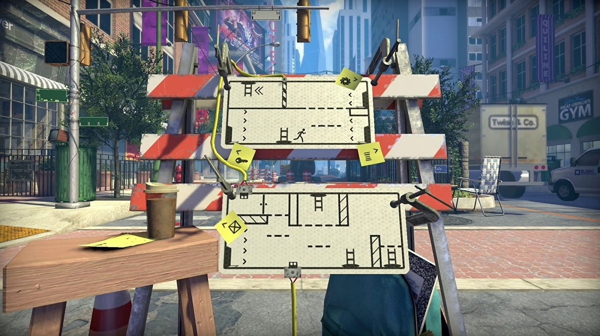 Acclaimed sign-shifting platform-puzzler The Pedestrian out on PlayStation next week